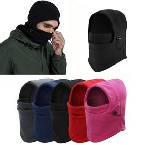 Windproof Fleece Hat Balaclava Hood Ski Face Mask
